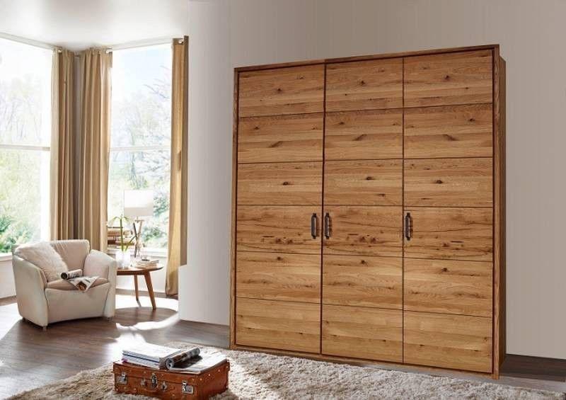 Kleiderschrank Balkenmobel Wildeiche 154x60x219 Cm Modern In 2020 Kleiderschrank Holz Kleiderschrank Schrank