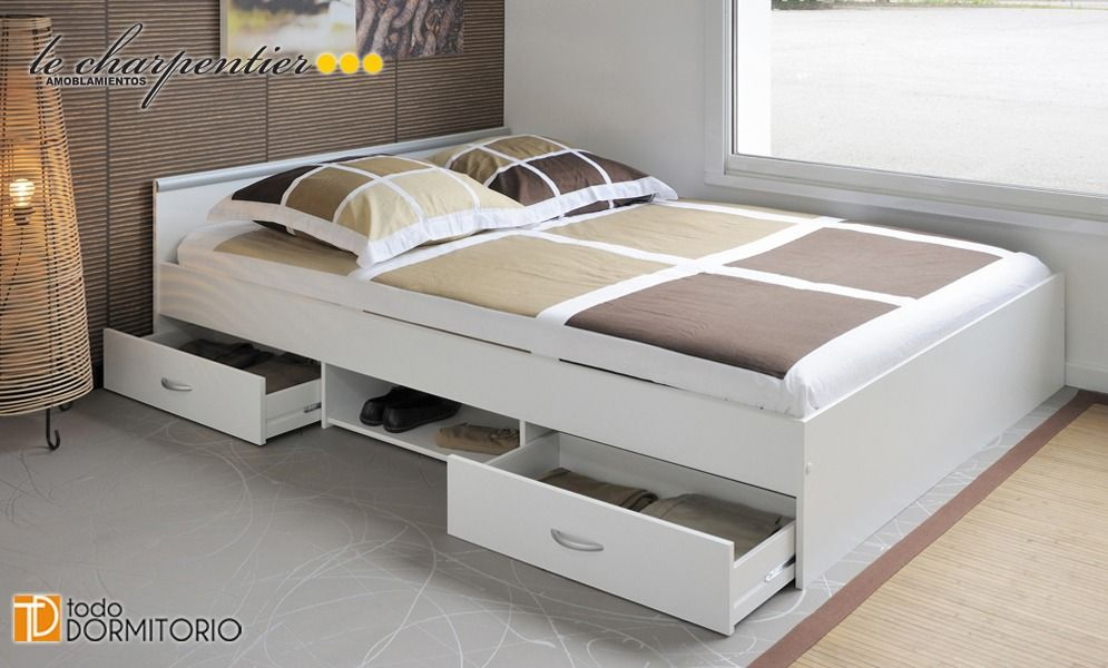 cama-1-plaza-y-media-con-cajones-le-carpentier-d006-4589 ...