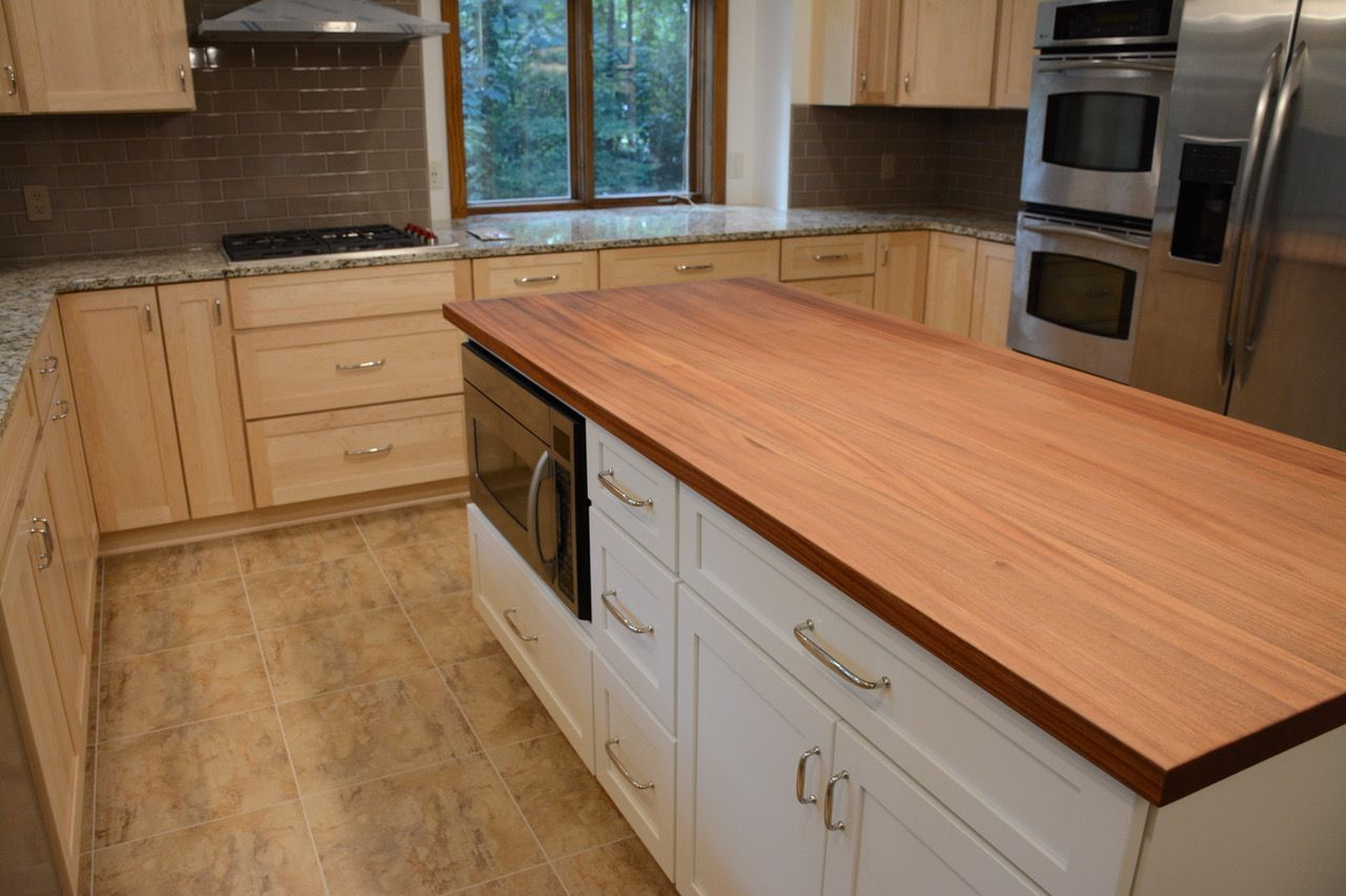 Just A Few Hardwood Kitchen Island Ideas When You Hand Select The Wood And Edge Glue Premiere Hardwo Butcher