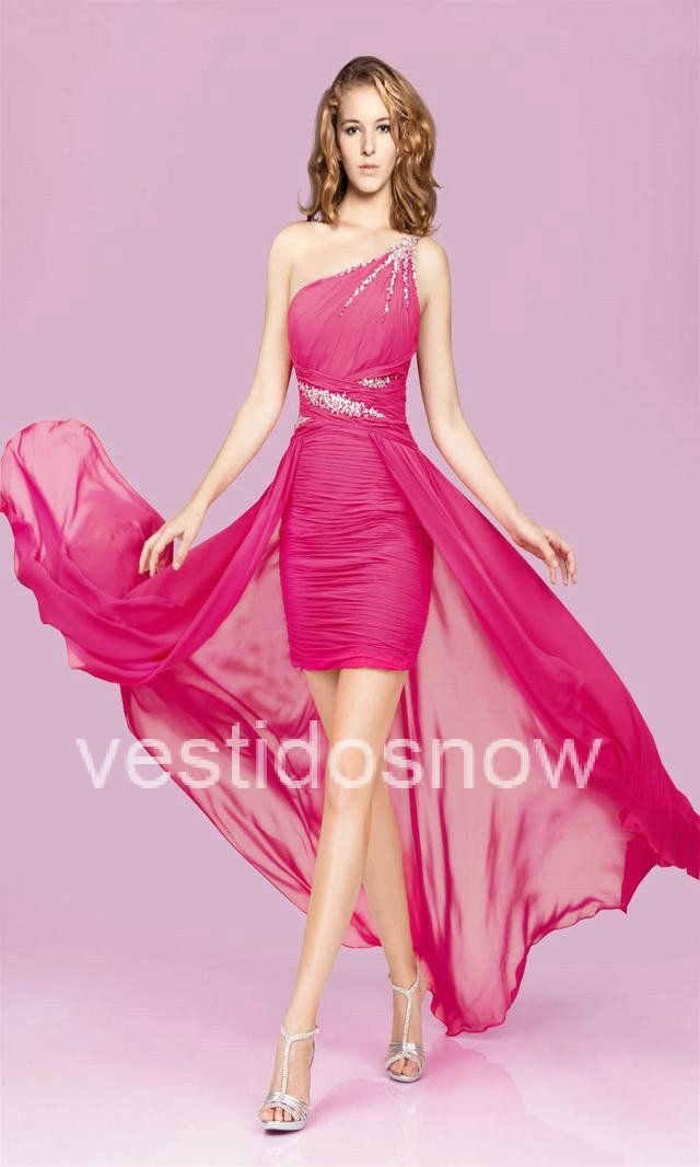 Solo Hombro Lentejuelas Vestido VNS2188 | Moda,para todos los gustos ...