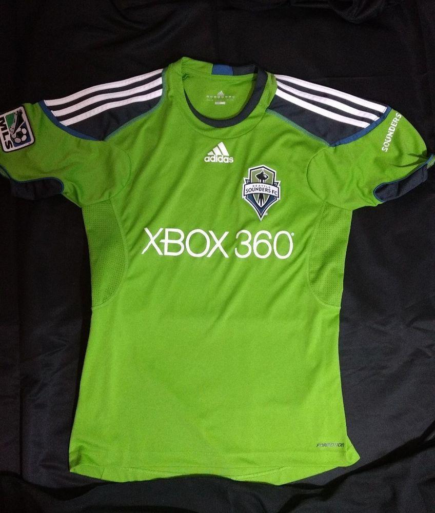 online store 230be c6ec2 Details about EUC SEATTLE SOUNDERS FC XBOX 360 MLS ADIDAS ...