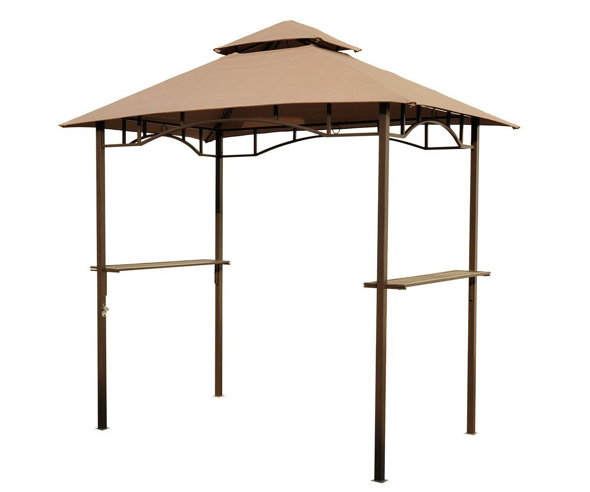 Amazon.com  Outsunny Outdoor 2-Tier BBQ Grill Canopy Tent 8-  sc 1 st  Pinterest : 8 foot canopy - memphite.com