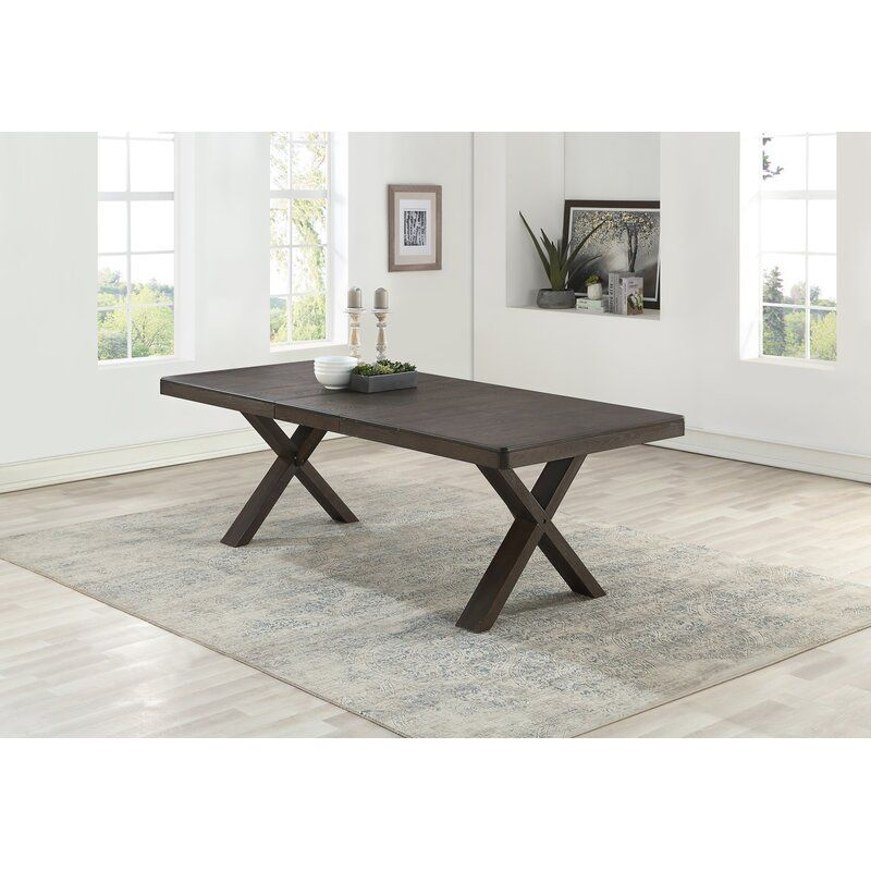 Gracie Oaks Cho Extendable Dining Table Wayfair Expandable Dining Table Oval Table Dining Dining Table