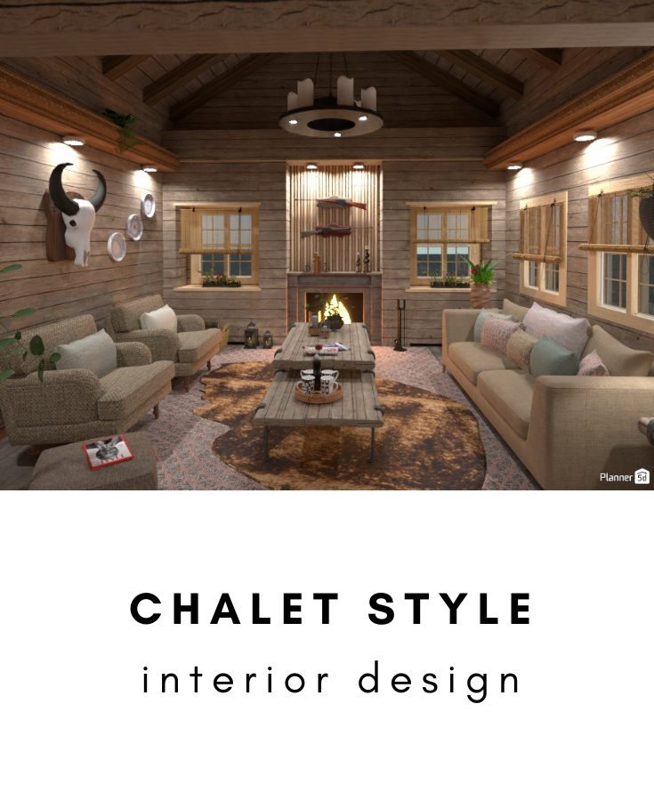 Chalet Style In 2020 Chalet Style House Design Living Room Inspiration