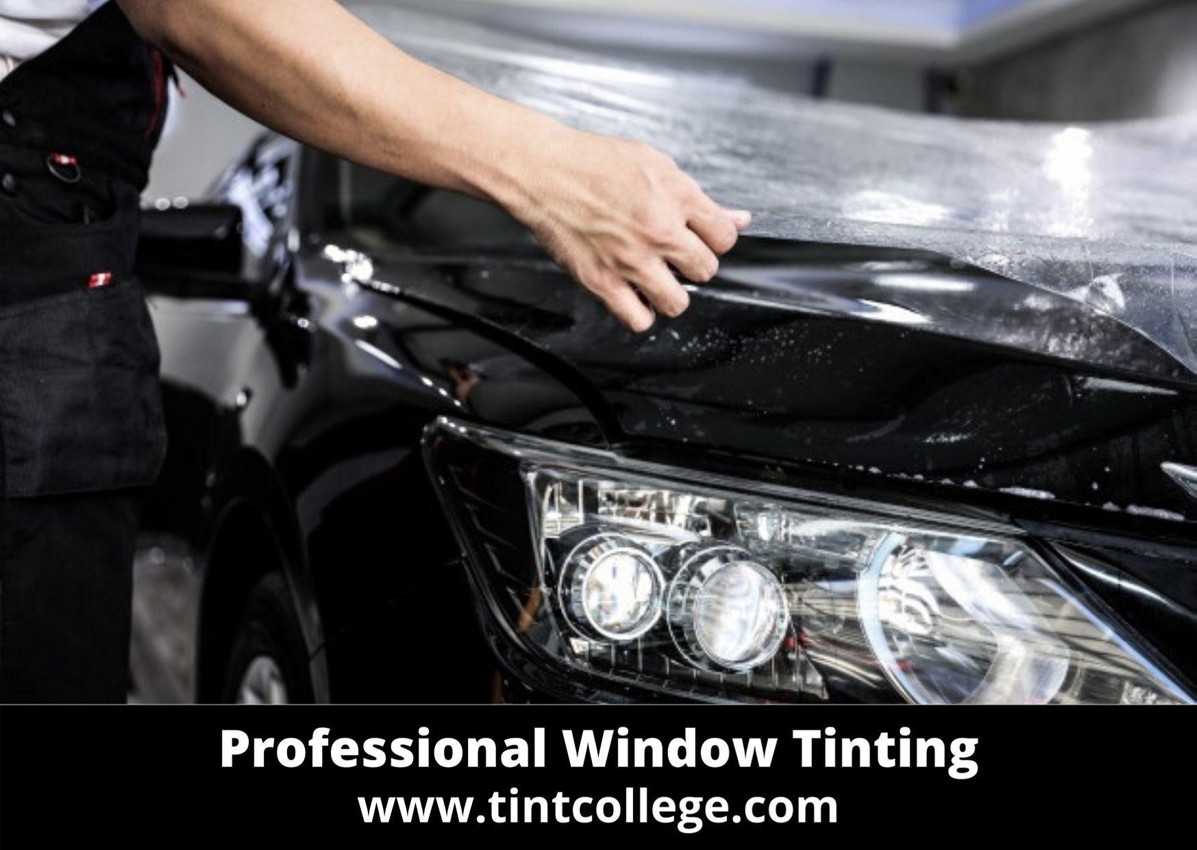 Professional Window Tinting Tint College Tinted Windows Tinted House Windows Tints