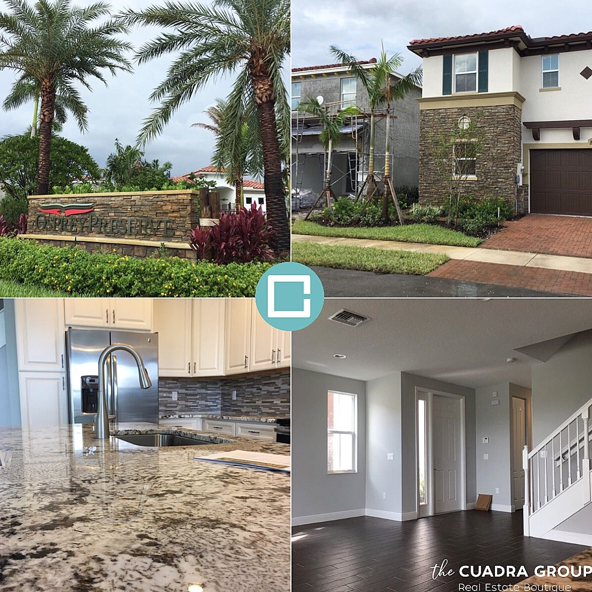 T H E C U A D R A G R O U P In Davie Today Showing This Brand New Development To Our Amazing Client Who Just Passed Miami Real Estate Real Estate Homeowner