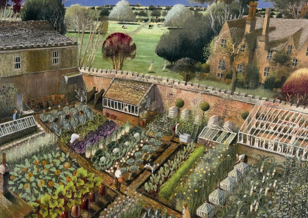 Victorian kitchen gardens demonstrate just how productive for Kitchen garden design