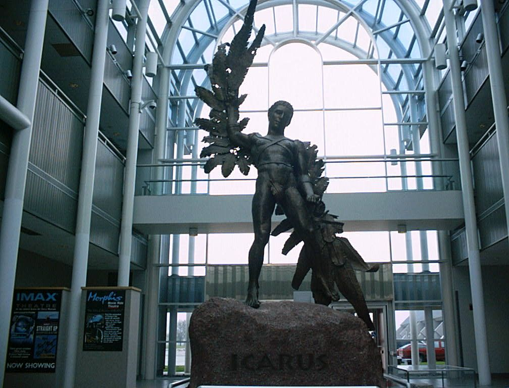 Icarus statue at the Air Force Museum, WrightPatterson
