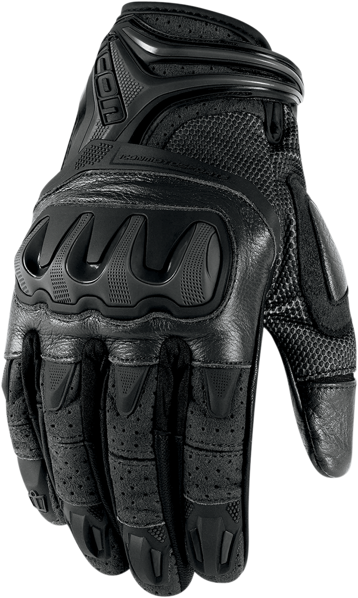 Motorcycle gloves distributor - Sick Gloves To Match The Jacket Icon Overlord Resistance Gloves Motorcycle