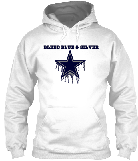 online store 221fb 2159a white dallas cowboys hoodie