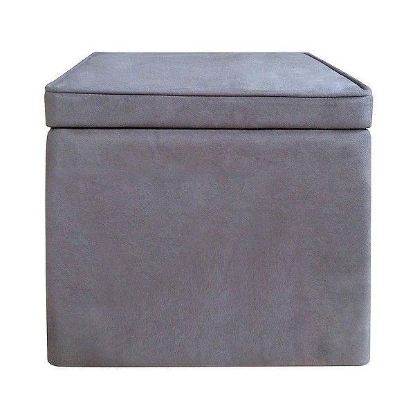 Storage Ottoman Room Essentials Cube Storage Ottoman Gray 17