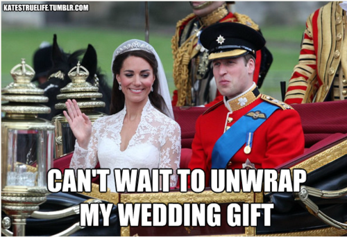 Kate and Wills