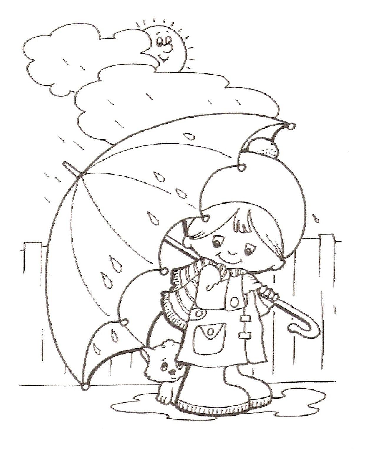 Es Regnet Malvorlagen Fruhling Ausmalbilder Malbuch Vorlagen