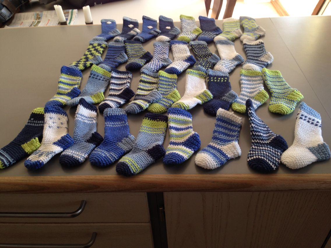Bestik sokker til navngivning