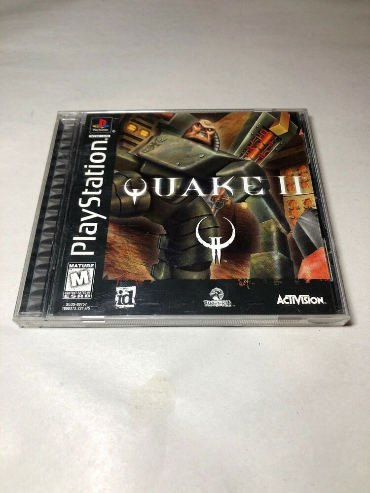 Quake II 2 Two (Sony PlayStation 1, 1999) PS1 Complete #ps4