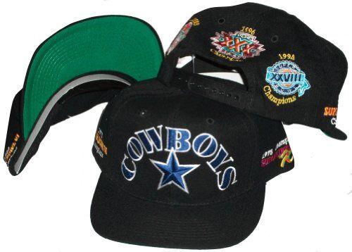 3aad34917d1 NEW Dallas Cowboys 5x Superbowl Champion NFL Vintage Snapback Flatbill Cap    Hat