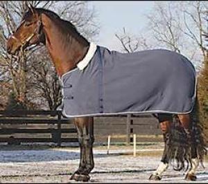 Gray Warm 280g Horse Fleece Rug