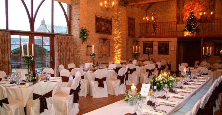 Some Photos Of Inside The Great Barn Wedding Venue Oxfordshire