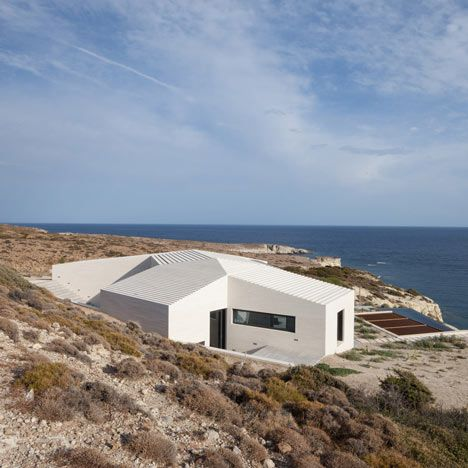 VNC House in Milos by decaArchitecture House Architecture and