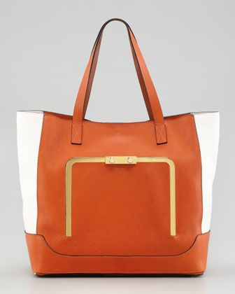 Bicolor Tote Bag By Marni At Neiman Marcus