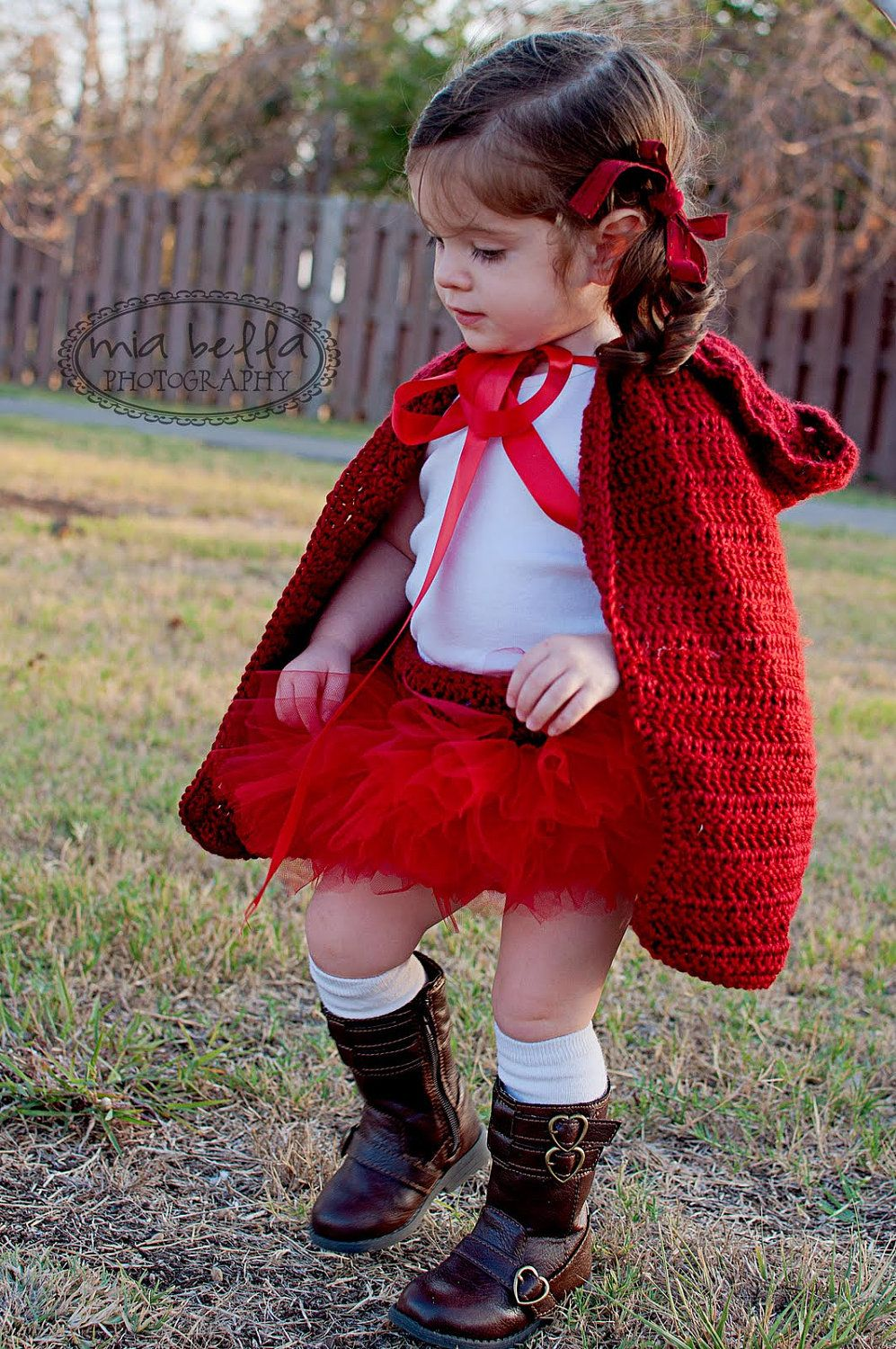 Little Red Riding Hood Costume Halloween Costume Baby Girl Costume ...
