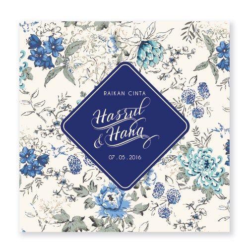 Kad Kahwin Floral 71 Koleksi Floral Terbaik Chantiqs Com Kad Kahwin Floral Personalized Items