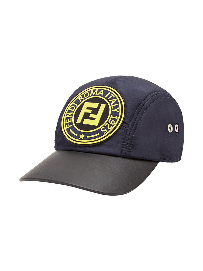 c6eb6a5fc2d FENDI LOGO PATCH BASEBALL CAP.  fendi