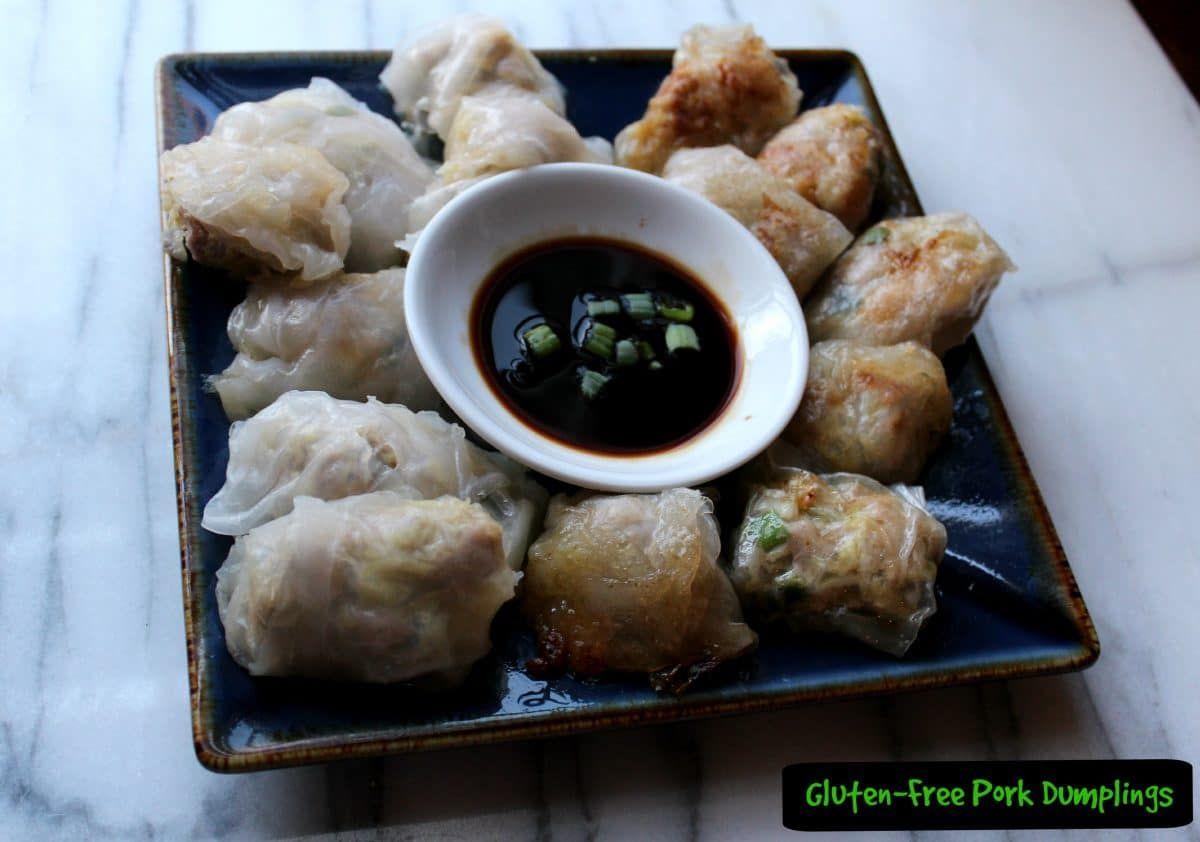 Glutenfree pork dumplings recipe pork dumplings