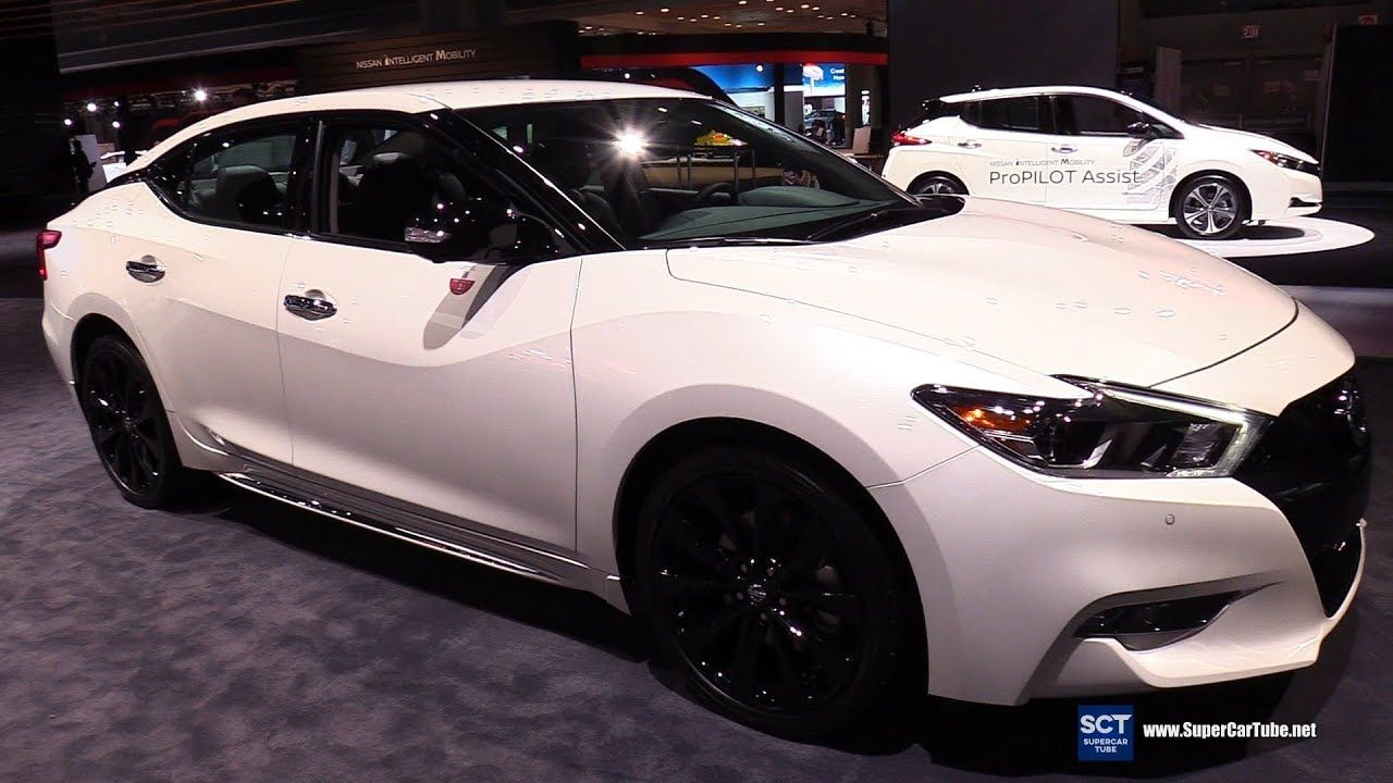 2019 Nissan Maxima Midnight Editon Exterior And Interior Walkaround Nissan Maxima Nissan Nissan Cars