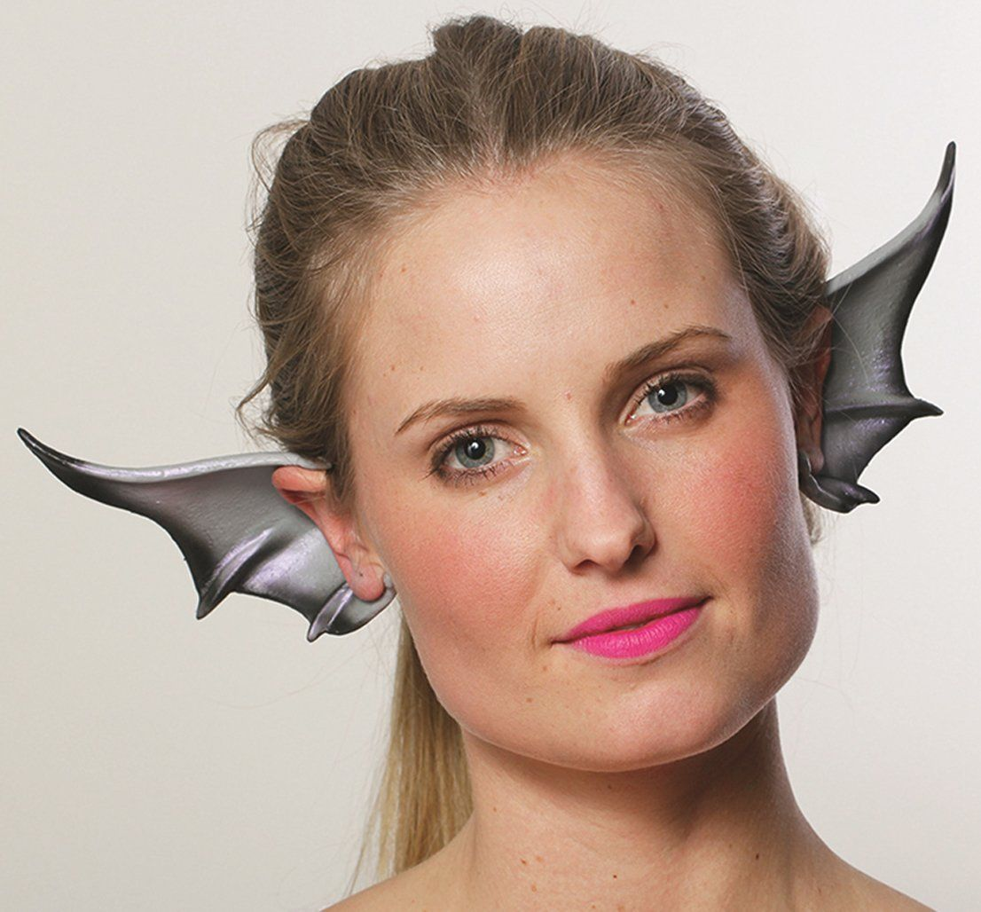 Amazon.com HMS Winged Dragon Gargoyle Cosplay Flexi Ears Costume Accessory Grey  sc 1 st  Pinterest : hms costumes  - Germanpascual.Com