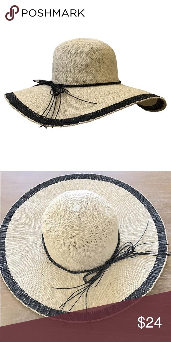 5533ce1fa373b Wide Brim Straw Hat Light tan straw hat with wide brim