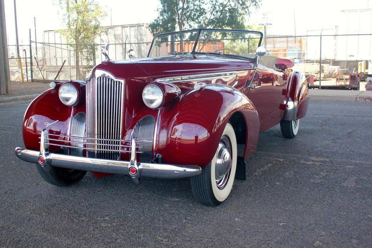 1940 Packard Darrin 120 Darrin Roadster For Sale 1818495 Hemmings Motor News Packard Roadsters Cars For Sale