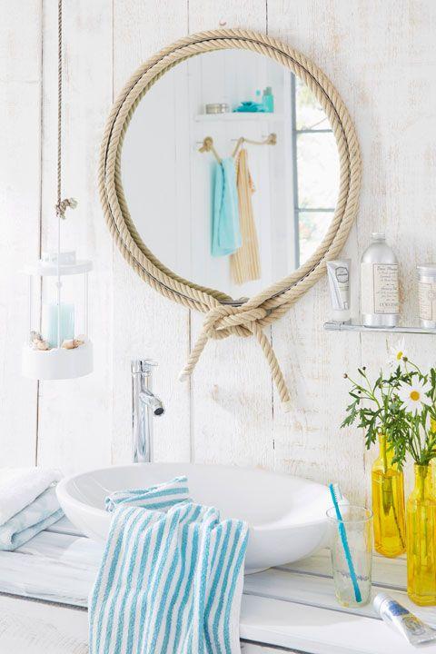 Maritimes Badezimmer preview praxis Pinterest Maritim - deko für badezimmer