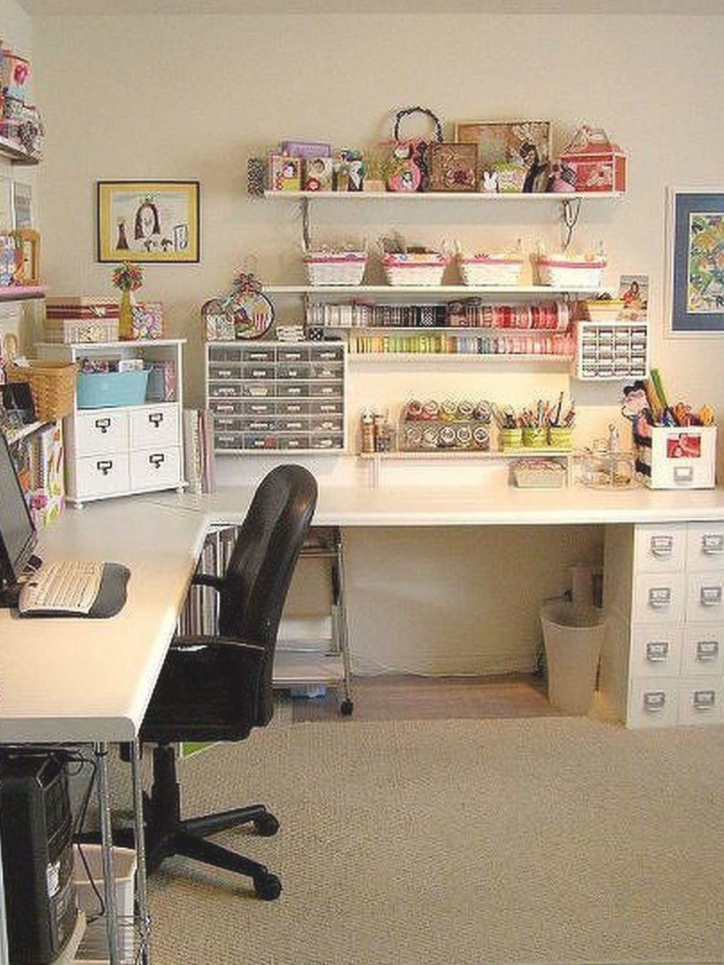 Creating Craft Room And Ideas 24 In 2020 Sewing Room Design