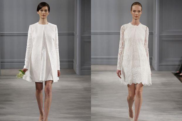 los vestidos cortos de novia: una buena opción para las bodas