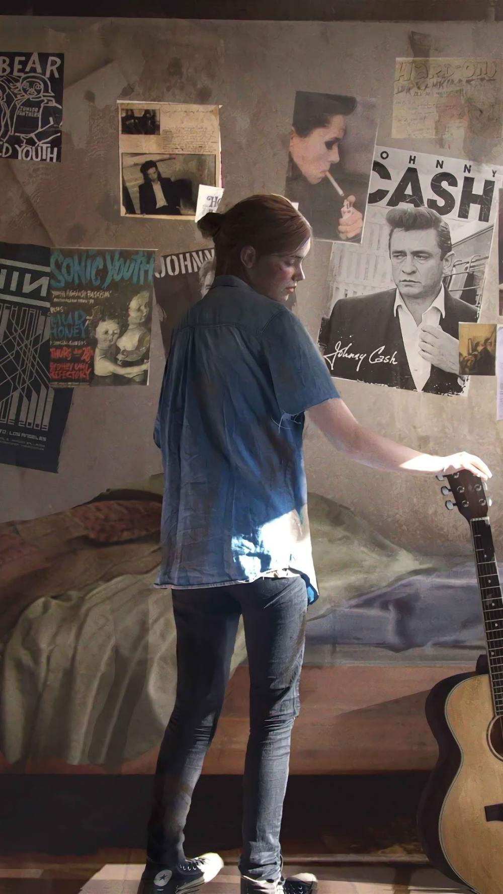 The Last Of Us Part 2 Ellie Guitar 4k Wallpaper 13 The Last Of Us The Lest Of Us The Last Of Us2