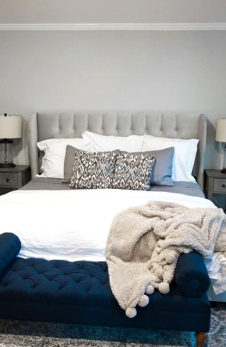 Bedroom home decor from Wayfair on the miller affect in 8