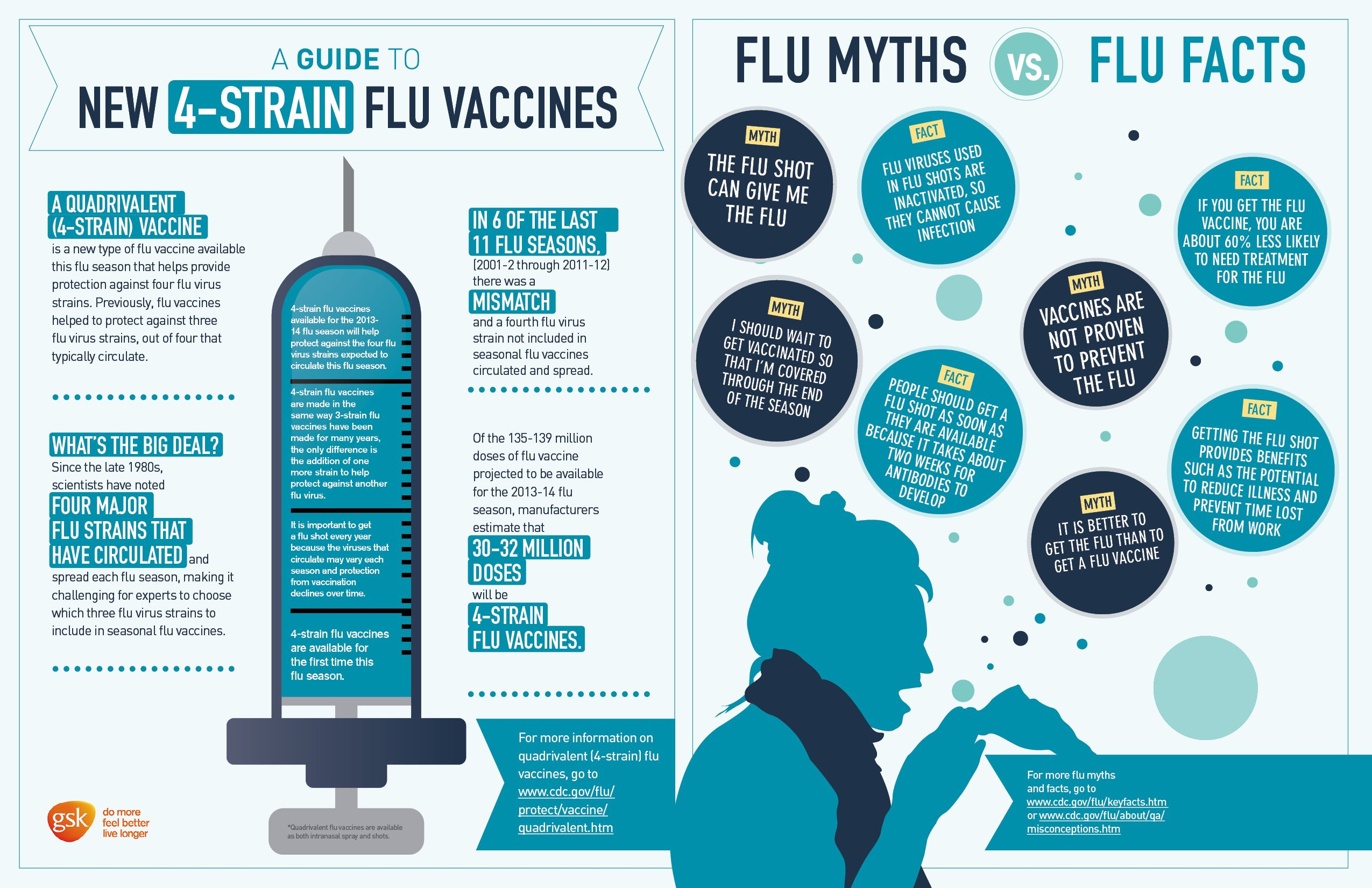 What You Need to Know About the Flu [Infographic | Health ...