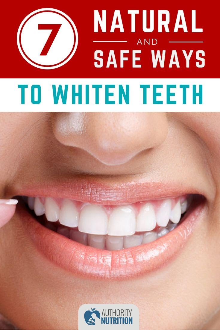 7 safe ways to home teeth whitening
