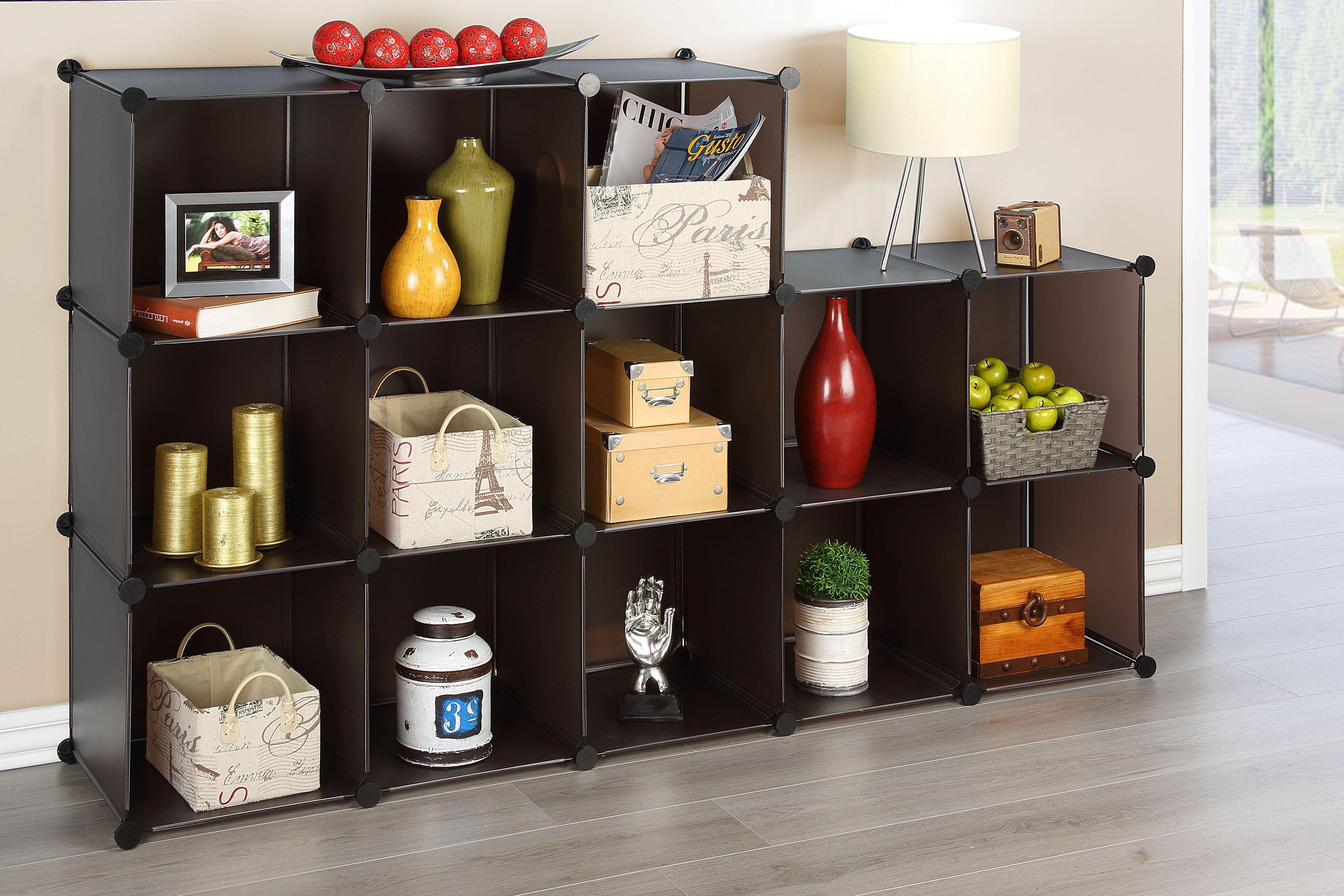 Con los cubos modulares puedes organizar mejor tu hogar.