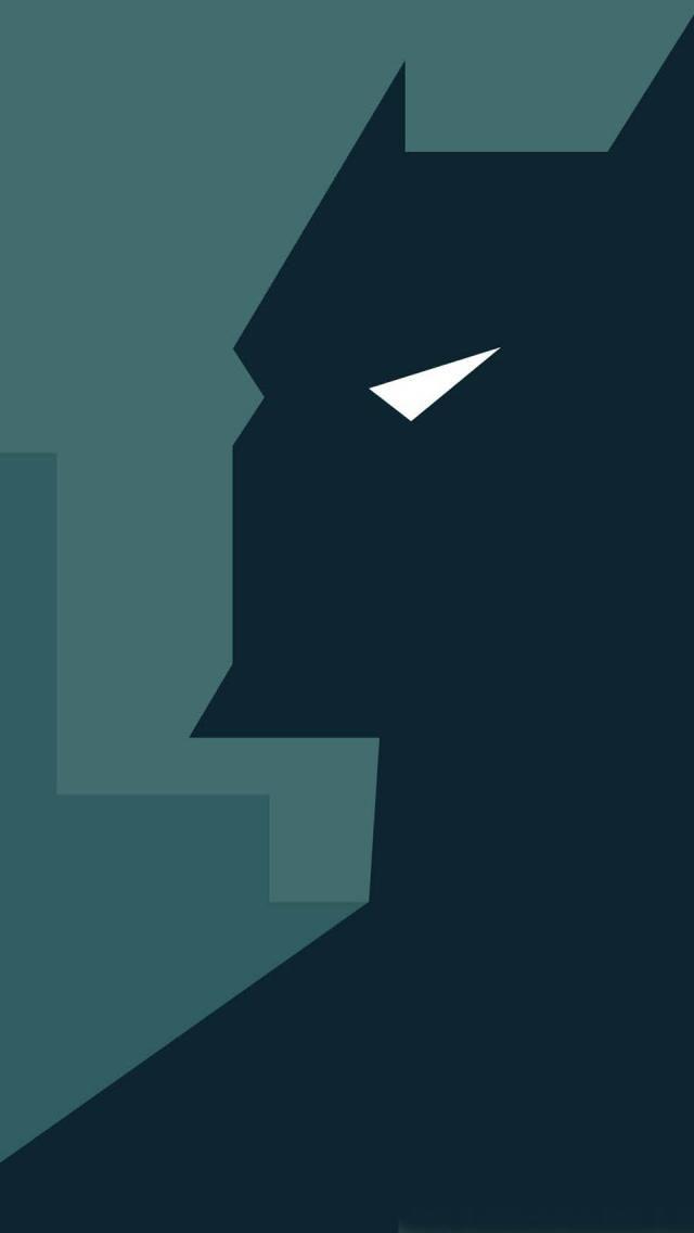 Batman Low Poly Geometric Wallpaper Android wallpaper