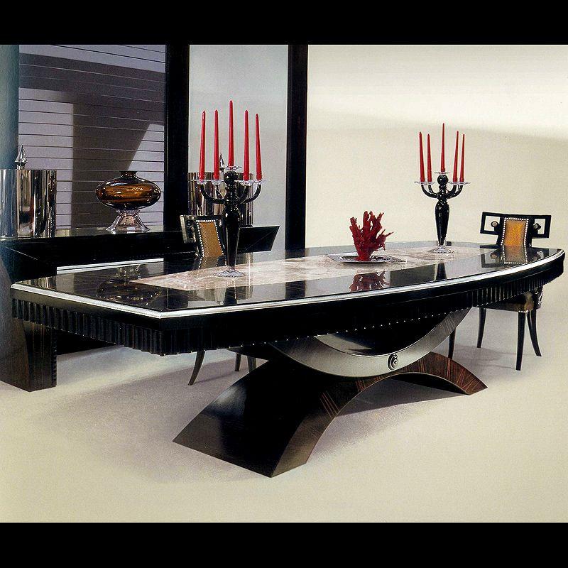 Macassar Ebony Table With Back Lit Onyx Taylor Llorente