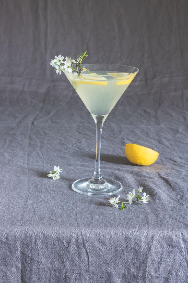 Easy Lemon Drop Martini (GF, Vegan)