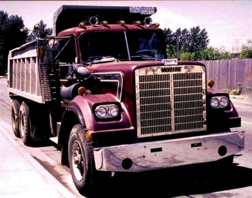 1984 Western Star Dump Truck U S A Western Star Trucks White Truck Big Trucks