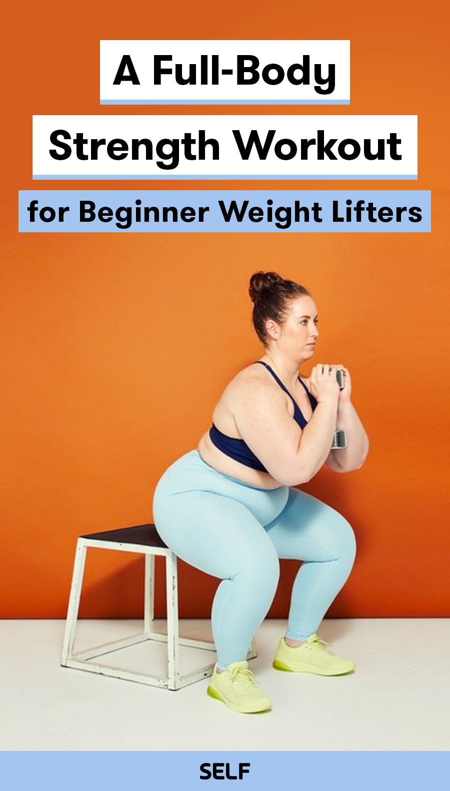 A Full-Body Strength Workout for Beginner Weight Lifters