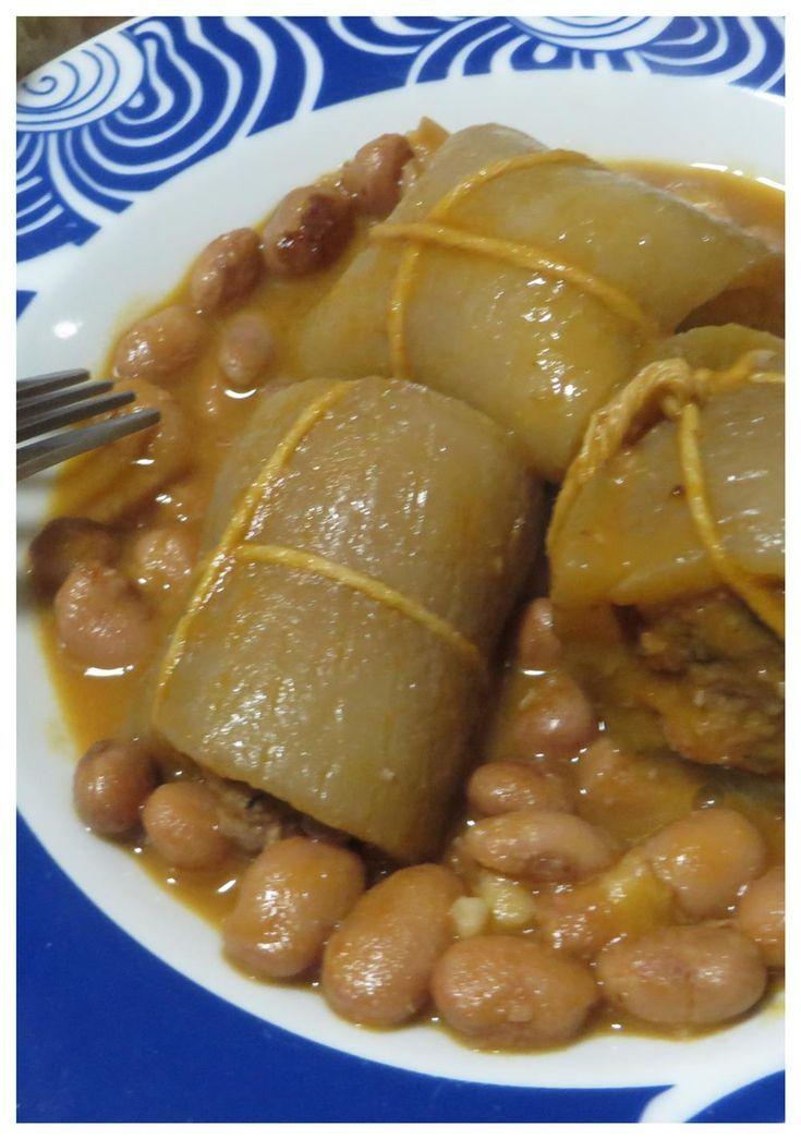 Photo of Recipe rolls of pork rinds and beans-Ricetta involtini di co…