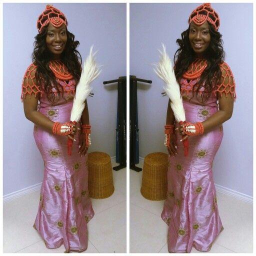 #nigerianbride #traditionalwedding #coralbeads