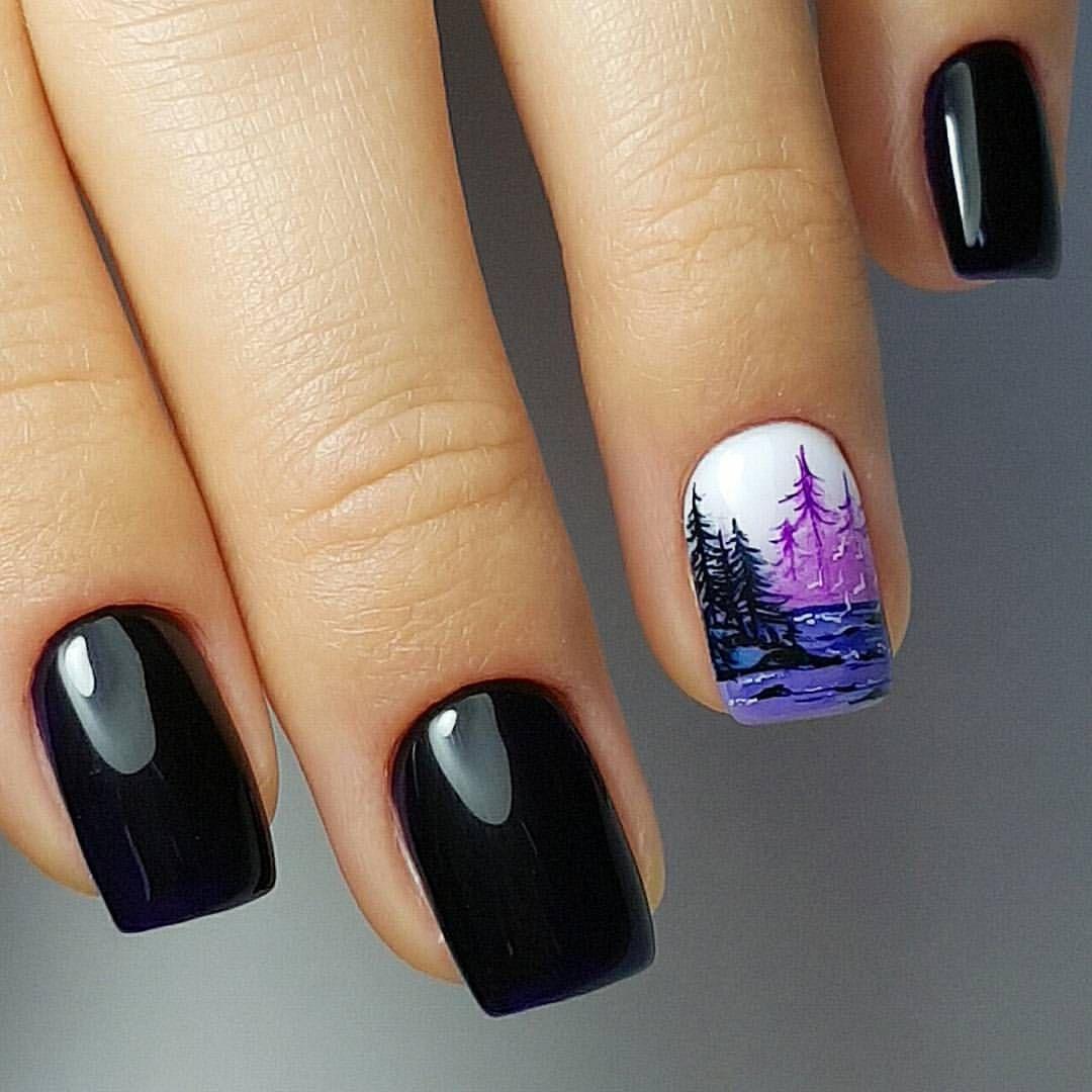 Крутые ногти картинки, юбилей