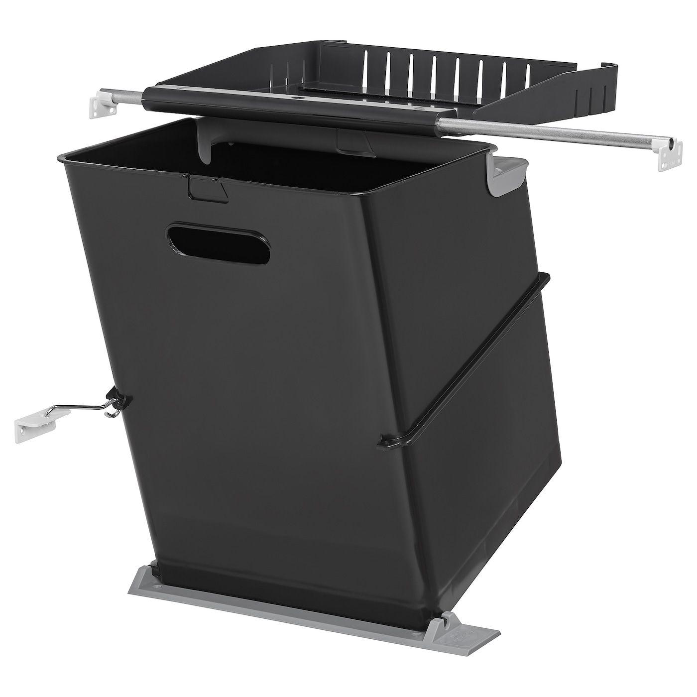 Ebbebo Poubelles Pour Element Avec Porte Ikea Poubelle Encastrable Poubelle Porte Armoire
