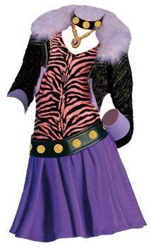 Rubieu0027s Monster High - Disfraz de Clawdeen Wolf (3 884788)  sc 1 st  Pinterest & Rubieu0027s Monster High - Disfraz de Clawdeen Wolf (3 884788 ...